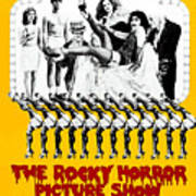 The Rocky Horror Picture Show Art Print by Everett