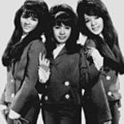 The Ronettes 1966 Art Print