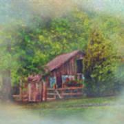 The Rose Barn Art Print