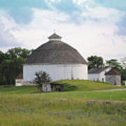The Round Barn Art Print