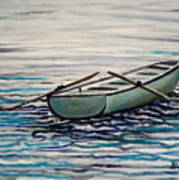 The Row Boat Art Print