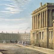 The Royal Crescent Art Print by David Cox