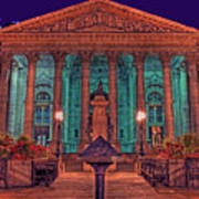 The Royal Exchange In The City London Art Print
