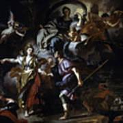 The Royal Hunt Of Dido And Aeneas Art Print