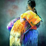 The Rug Girl Art Print