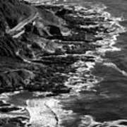 The Rugged Beauty Of The Oregon Coast - 4  Art Print