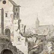 The Ruins Of Utrecht Art Print