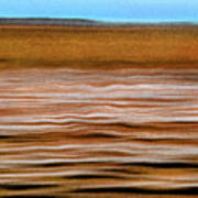 The Rust Brown Pacific Art Print