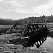 The Rusted Bridge Art Print