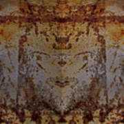 The Rusted Feline Art Print