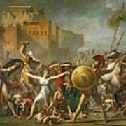 The Sabine Women Art Print