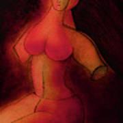 The Sacred Female  Art Print