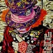 The Sad Hatter Art Print