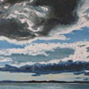 The Saintlawrence Lapocatiere Qc Canada Art Print