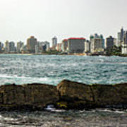 The San Juan Puerto Rico Cityscape Art Print