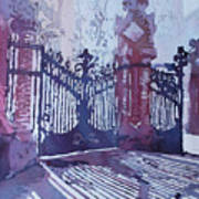 The Sant Pau Gates Art Print