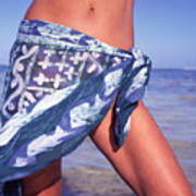 The Sarong Art Print