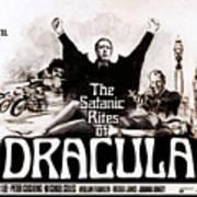 The Satanic Rites Of Dracula, Center Print by Everett