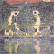 The Schloss Kammer On The Attersee IIi Art Print