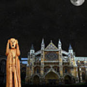 The Scream World Tour Westminster Abbey Art Print by Eric Kempson