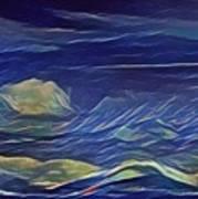 The Sea And Sky Where Thunder Sleeps Art Print
