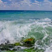 The Sea Breathes Art Print