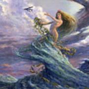The Storm Queen Art Print
