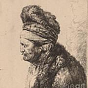 The Second Oriental Head Art Print