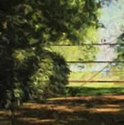 The Secret Gate Art Print
