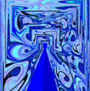 The Secret Room Abstract Art Print