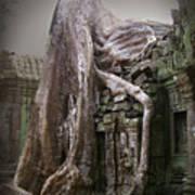 The Secrets Of Angkor Art Print by Eena Bo