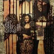 The Secrets Of Mona Lisa Art Print by Michael Kulick