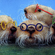 The See Otters... Art Print