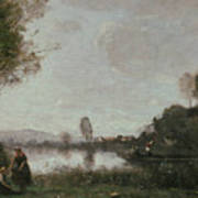 The Seine At Chatou Art Print