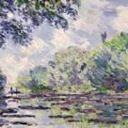 The Seine At Giverny Art Print
