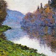The Seine At Jenfosse Art Print