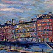 The Seine In Paris Art Print