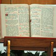 The Sermon Art Print