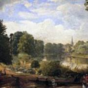 The Serpentine Art Print by Jasper Francis Cropsey