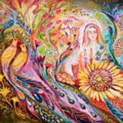 The Shabbat Queen Art Print
