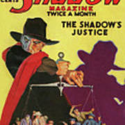 The Shadow The Shadows Justice Art Print