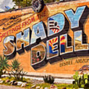 The Shady Dell Bisbee Az Art Print