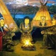 The Shamans Council Art Print