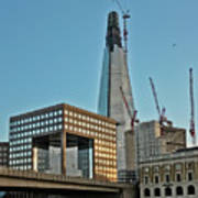The Shard London Bridge Art Print