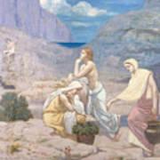 The Shepherd's Song, 1891 Art Print