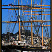The Ship Balclutha Art Print