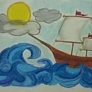 The Ship Art Print