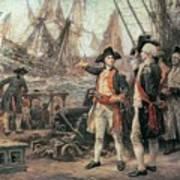The Ship That Sank The Victory Art Print