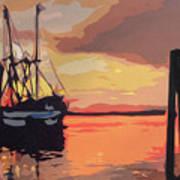 The Shrimp Boat Art Print