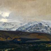 The Sierra De Guadarrama Art Print